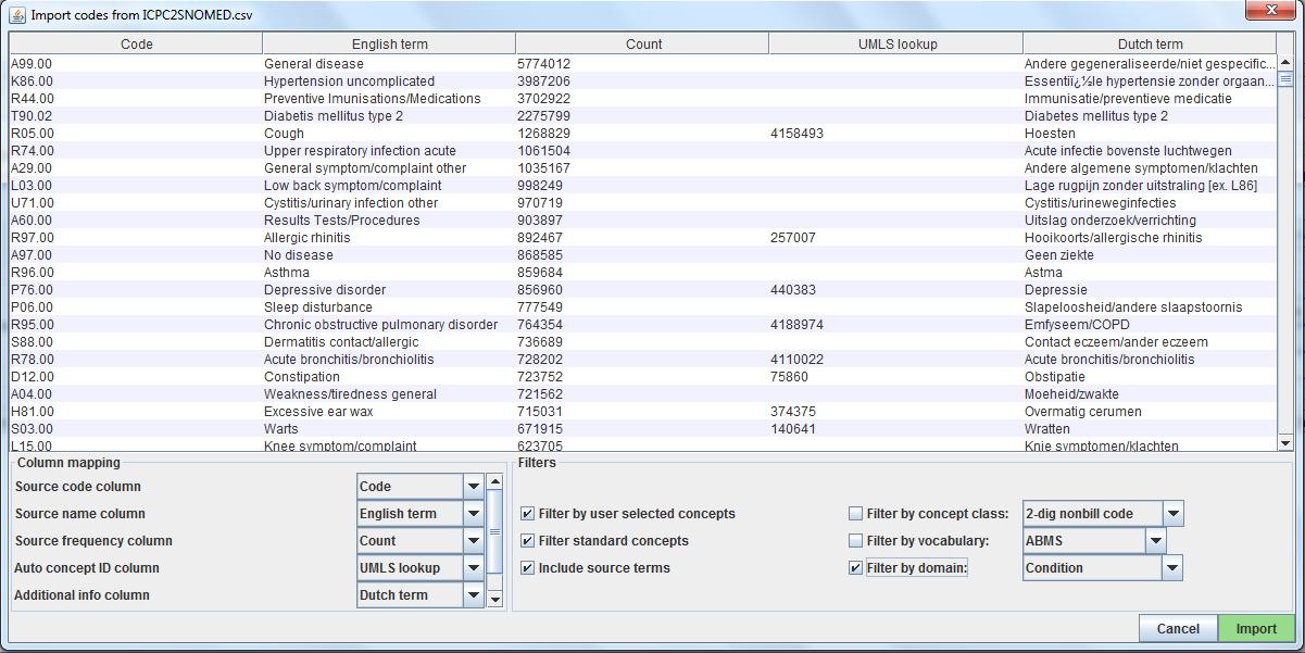 documentation:software:usagi [Observational Health Data