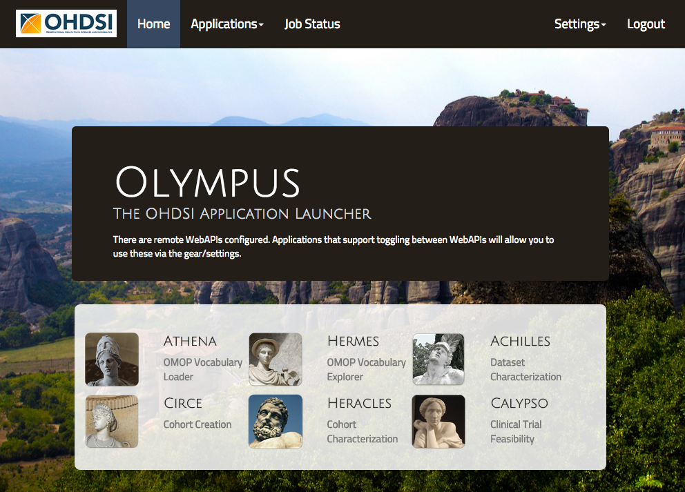 Olympus Home Page